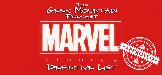 Marvel Definitive List