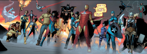 civil war II 4 team tony